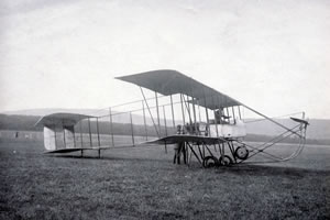 First plane to land at Castle Kennedy Airport